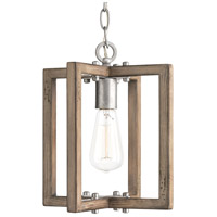 Turnbury 1 Light 10 inch Galvanized Pendant Ceiling Light, Design Series