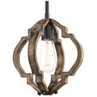 Spicewood 1 Light 10 inch Gilded Iron Pendant Ceiling Light, Design Series