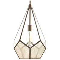 Cinq 1 Light 12 inch Antique Bronze Pendant Ceiling Light, Design Series