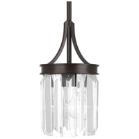Glimmer 1 Light 6 inch Antique Bronze Pendant Ceiling Light, Design Series