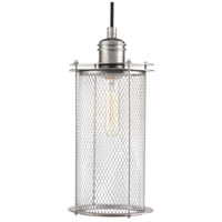 Industrial 1 Light 6 inch Galvanized Pendant Ceiling Light