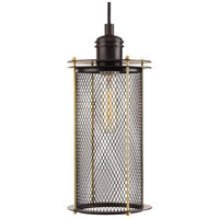 Industrial 1 Light 6 inch Antique Bronze Pendant Ceiling Light