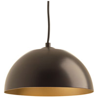 Dome LED 10 inch Antique Bronze Pendant Ceiling Light
