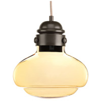 Progress P5345-2030K9 Beaker LED 10 inch Antique Bronze Pendant Ceiling Light Design Series