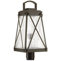 Creighton 1 Light 22 inch Antique Bronze Outdoor Post Lantern