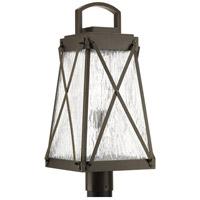 Progress P540009-020 Creighton 1 Light 22 inch Antique Bronze Outdoor Post Lantern Design Series