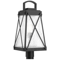 Creighton 1 Light 22 inch Black Outdoor Post Lantern