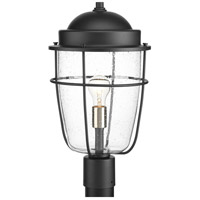 Holcombe 1 Light 18 inch Black Outdoor Post lantern