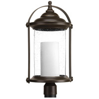Whitacre LED 23 inch Antique Bronze Outdoor Post lantern, Design Series