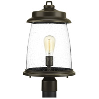 Conover 1 Light 19 inch Antique Bronze Outdoor Post lantern