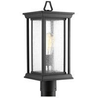 Endicott 1 Light 18 inch Black Outdoor Post Lantern