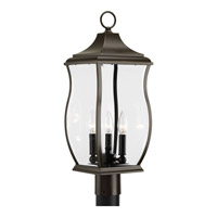 Township 3 Light 23 inch Oil Rubbed Bronze Post Lantern