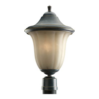 Progress Lighting Le Jardin 1 Light Outdoor Post Lantern in Espresso P5406-84