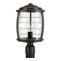Signal Bay 1 Light 16 inch Oil Rubbed Bronze Post Lantern
