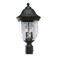 Progress Lighting Coventry 2 Light Outdoor Post Lantern in Textured Black P5429-31