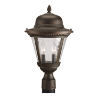 Progress Lighting Westport 2 Light Outdoor Post Lantern in Antique Bronze P5434-20