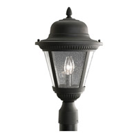 Progress Lighting Westport 2 Light Outdoor Post Lantern in Black P5434-31