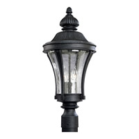 Progress Lighting Nottington 3 Light Outdoor Post Lantern in Gilded Iron P5438-71