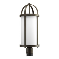 Greetings 1 Light 23 inch Antique Bronze Outdoor Post Lantern