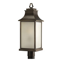 Salute 1 Light 23 inch Oil Rubbed Bronze Outdoor Post Lantern