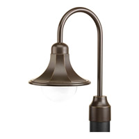 Progress Lighting Signature 1 Light Outdoor Post Lantern in Antique Bronze P5454-20