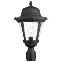 Westport 1 Light 19 inch Black Outdoor Post Lantern