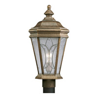 Progress Lighting Cranbrook 1 Light Outdoor Post Lantern in Burnished Chestnut P5458-86
