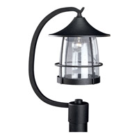 Prairie 1 Light 19 inch Gilded Iron Outdoor Post Lantern