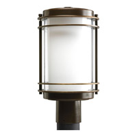 Progress P5472-108 Penfield 1 Light 15 inch Oil Rubbed Bronze Outdoor Post Lantern photo thumbnail