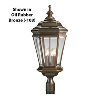 Progress Lighting Crawford 4 Light Outdoor Post Lantern in Cobblestone P5474-33