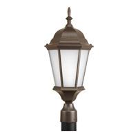 Progress P5482-20EB Welbourne 1 Light 21 inch Antique Bronze Outdoor Post Lantern in Etched Fluorescent