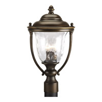Prestwick 3 Light 19 inch Oil Rubbed Bronze Outdoor Post Lantern