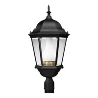 Progress Lighting Welbourne 1 Light Outdoor Post Lantern in Textured Black P5486-31