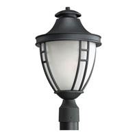 Progress Lighting Fairview 1 Light Outdoor Post Lantern in Black P5489-31STR