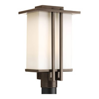 Dibs Outdoor 1 Light 16 inch Antique Bronze Outdoor Post Lantern