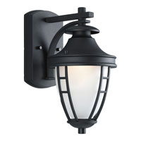 Progress Lighting Fairview 1 Light Outdoor Wall in Black P5492-31STR