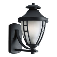 Progress P5494-31STR Fairview 1 Light 15 inch Black Outdoor Wall Lantern in Energy Star Rated photo thumbnail