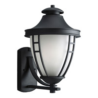 Progress Lighting Fairview 1 Light Outdoor Wall Lantern in Black P5496-31