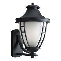 Progress Lighting Fairview 1 Light Outdoor Wall in Black P5496-31STR