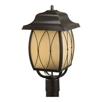 Progress Lighting Montreux 1 Light Outdoor Post Lantern in Antique Bronze P5498-20