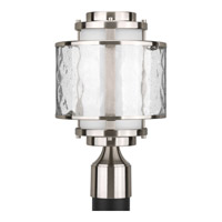 Progress Lighting Thomasville Bay Court Outdoor 1 Light Outdoor Post Lantern in Brushed Nickel P5499-09
