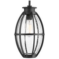 Progress P550005-031 Pier 33 1 Light 8 inch Black Outdoor Hanging Lantern