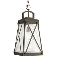 Progress P550009-020 Creighton 1 Light 11 inch Antique Bronze Outdoor Hanging Lantern Design Series