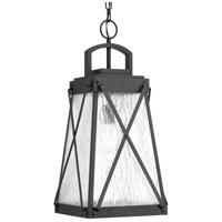 Progress P550009-031 Creighton 1 Light 11 inch Black Outdoor Hanging Lantern Design Series
