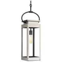 Union Square 1 Light 7 inch Stainless Steel Outdoor Hanging Lantern