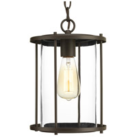 Progress P550020-020 Gunther 1 Light 8 inch Antique Bronze Outdoor Hanging Lantern