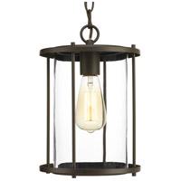 Progress P550020-020 Gunther 1 Light 8 inch Antique Bronze Outdoor Hanging Lantern