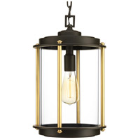 Progress P550022-129 Laine 1 Light 10 inch Architectural Bronze Outdoor Hanging Lantern