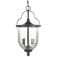 Progress P550023-031 McPherson 3 Light 10 inch Black Outdoor Hanging Lantern