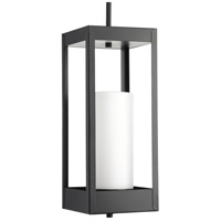 Progress P550024-031 Patewood 1 Light 7 inch Black Outdoor Hanging Lantern Design Series